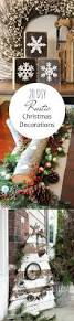 25 unique rustic christmas decorations ideas on pinterest