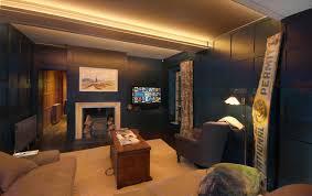 Living Room Uplighting Marlow Lighting Control Multiroom Media