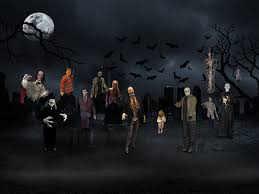 halloween party background images home
