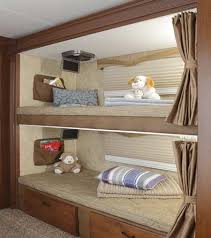Best Trailer Crib Images On Pinterest Travel Trailers Bunk - Rv bunk beds