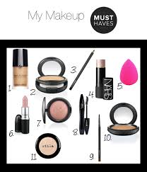 Makeup Basics 10 Must Makeup by My Makeup And We Like You