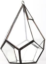 Geometric Hanging Planter by Amazon Com Modern Indoor Opening Wall Hanging Glass Geometric