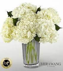 vera wang flowers ftd ivory hydrangea bouquet by vera wang pesche s