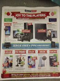 leaked gamestop black friday flyer has xbox one on page 2 ps4 on