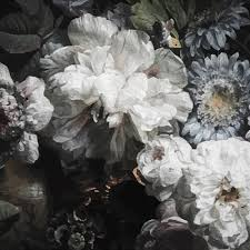 modern floral wallpaper peony modern classic dark floral wallpaper kathy kuo home