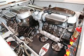 cigarette racing sls amg inspired cigarette racing boat engine bay eurocar news