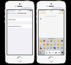 ios voor beginners het emoji toetsenbord activeren en gebruiken