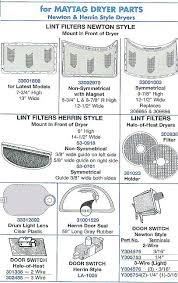 sears parts maytag dryer maytag dryer parts canada dryer lint