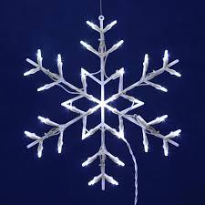 outdoor snowflake lights sacharoff decoration