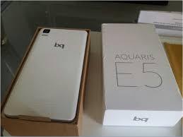 vendo bq aquaris e5 4g hd 16 gb blanco