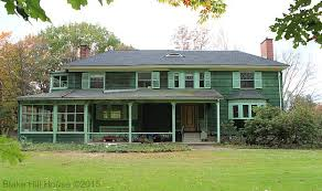 what is a colonial house business in the front party in the back part i blake hill house
