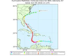 Hurricane Tracking Map Matthew Becomes The Atlantic U0027s First Category 5 Hurricane In Nine