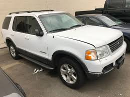 Ford Explorer White - 2002 ford explorer xlt 4 door suv white vin 1fmzu73e92uc63011