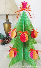 7 best images of printable 3d christmas tree printable paper