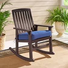 Mainstays Rocking Chair Better Homes And Gardens Delahey Wood Porch Rocking Chair