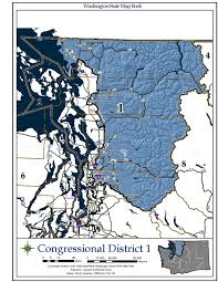 Bellingham Washington Map by Washington U0027s 1st Congressional District Wikipedia