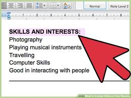 3 ways to include skills on your resume wikihow
