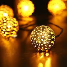 christmas string lights solar power string lights moroccan ball