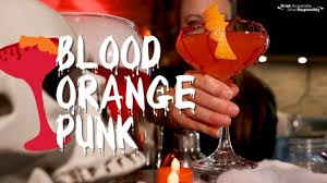 martini halloween how to make a blood orange punk martini halloween party cocktail