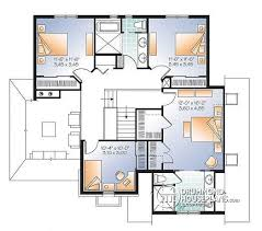 house plans with large bedrooms house plan w3413 v3 detail from drummondhouseplans com