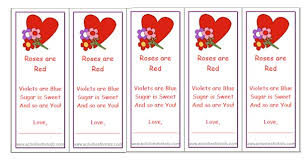 printable valentine bookmarks for kids