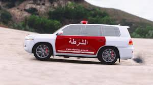 ad police toyota land cruiser abu dhabi police gta5 mods com