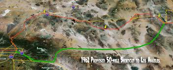 Route 66 California Map by Route 66