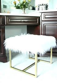 faux fur ottoman with storage furry ottoman waterprotectors info