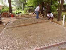 Diy Stone Patio Ideas Installing A Paver Patio Diy