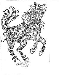 454 coloring pages horses unicorns zebras images