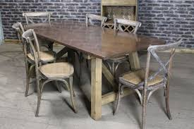 Copper Top Dining Room Tables Copper Dining Table Industrial Style Copper Top