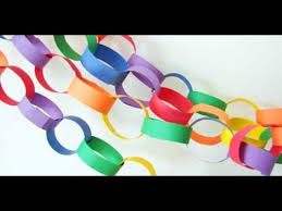 paper decorations how to make easy paper chains silent killer