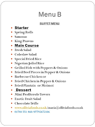 Buffet Menu For Wedding by From Buffet To Fine Dining Ollivia Foods Makes It Grand Wedding