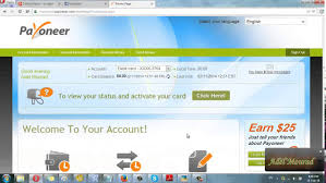 free prepaid debit card how to get your free debit card payoneer prepaid master card 25