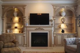 Fireplace Mantels With Bookcases Bookcases And Fireplace Mantels Traditional Living Room