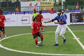 Paralympics Blind Football The Home Of Blind Football In India Home