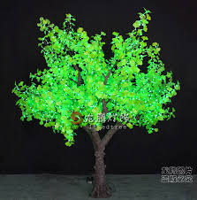 led tree outdoor led tree lights artificial led ginkgo tree