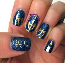 hanukkah nail hanukkah flight of whimsy