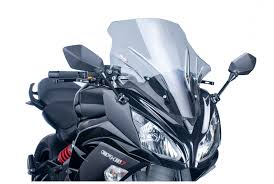 puig racing windscreen kawasaki ninja 650 2012 2016 revzilla