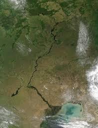 Volga River Map Nasa Visible Earth The Volga River Russia