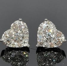 heart shaped diamond earrings 50 classic jewels from heart shapes jewelery and