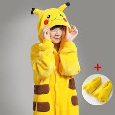 pikachu costume aliexpress buy kids baby pocket pikachu