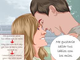 how to say i want to kiss you in spanish 4 steps with pictures
