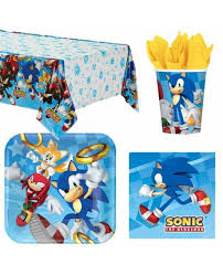 sonic the hedgehog party supplies sonic the hedgehog party bags and supplies