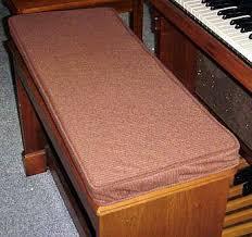 hammond organ bench pads cushions u2013 bb organ