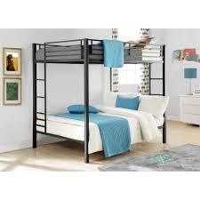 walmart bunk beds dorel full over metal bunk bed multiple finishes walmart arafen