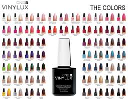 rainbow nails cnd vinylux lacquer products