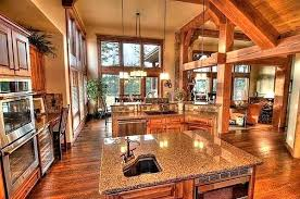 houses with open floor plans open floor plans houses craftsman open kitchen floor plan view