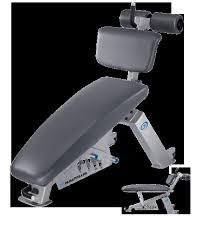 Adjustable Abdominal Bench Nautilus Free Weights Adjustable Abdominal Bench Home Gym