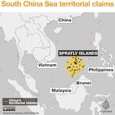 Map Of China And Taiwan by Interactive Islands Row Around China Al Jazeera